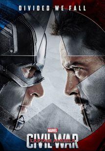 Cartel de El Capitán América: Guerra Civil