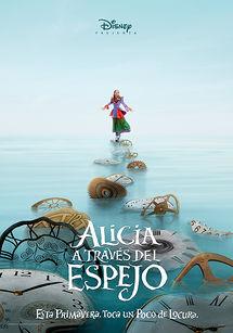 Cartel de Alicia a través del espejo