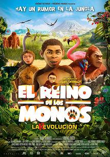 Cartel de El reino de los monos