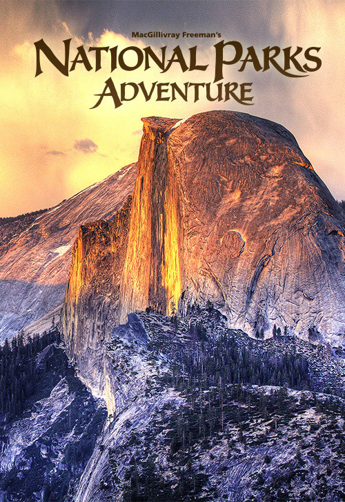 Cartel de America Wild. Parques naturales