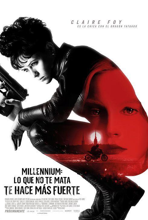 Cartel de Millennium: Lo que no te mata te hace más fuerte