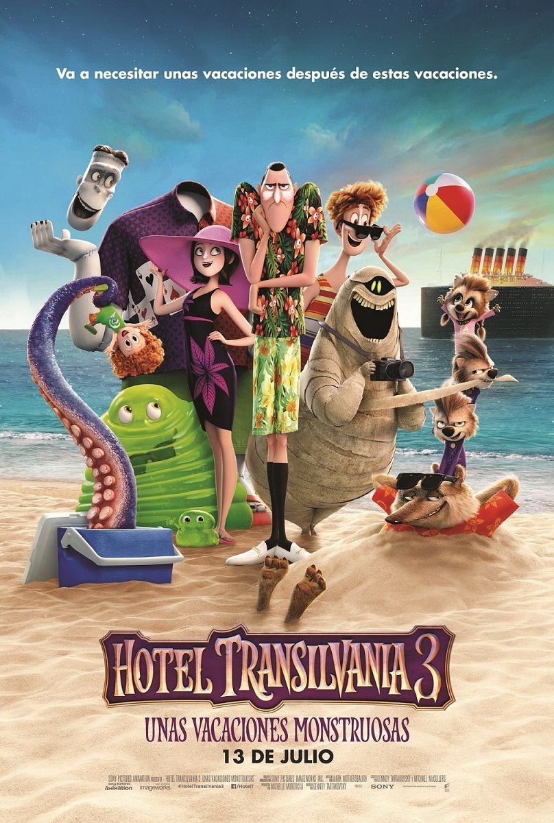 Cartel de Hotel Transilvania 3: Unas vacaciones monstruosas