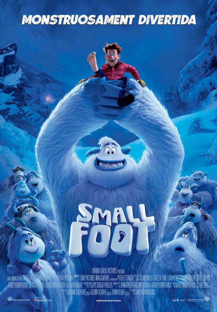 Cartel de Smallfoot