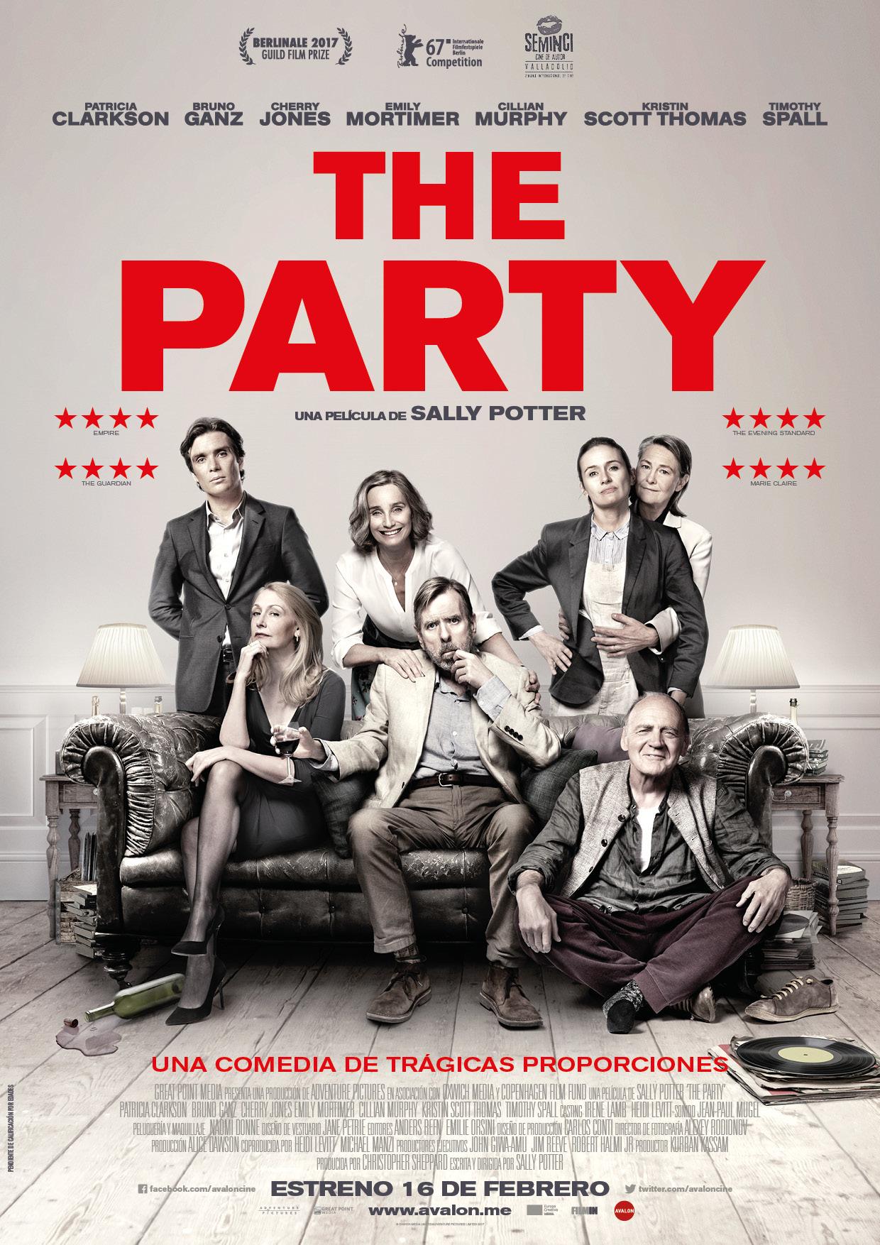 Cartel de The Party