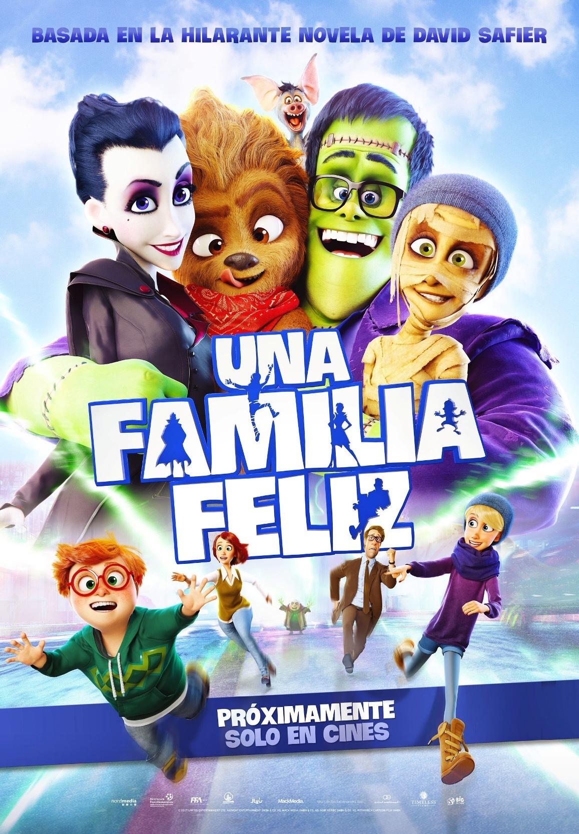 Cartel de Una familia feliz