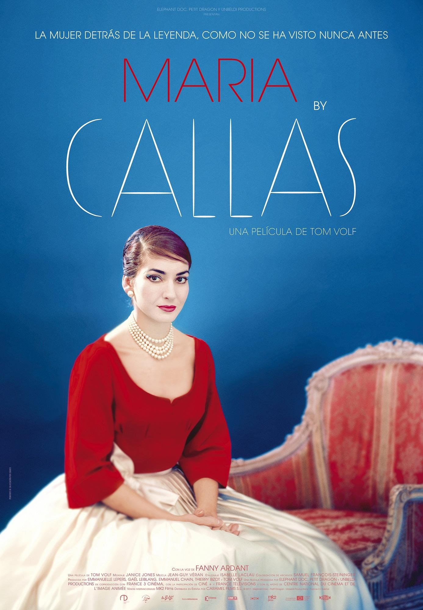 Cartel de Maria by Callas