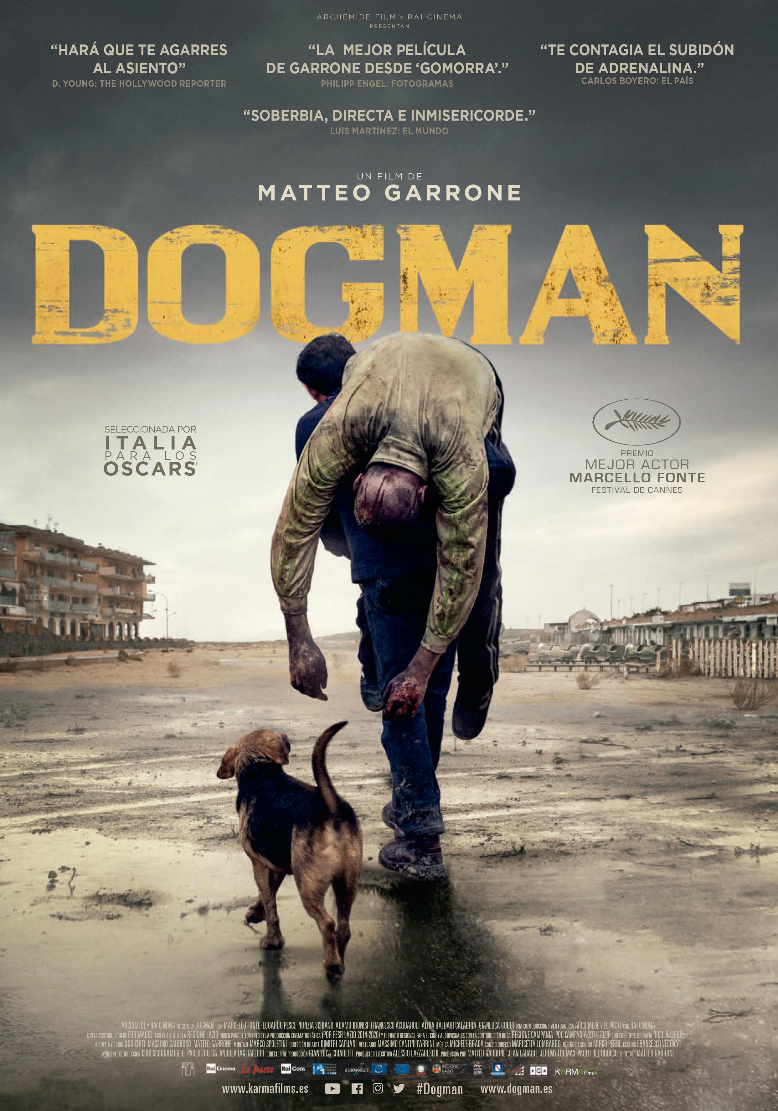 Cartel de Dogman