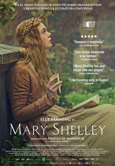 Cartel de Mary Shelley
