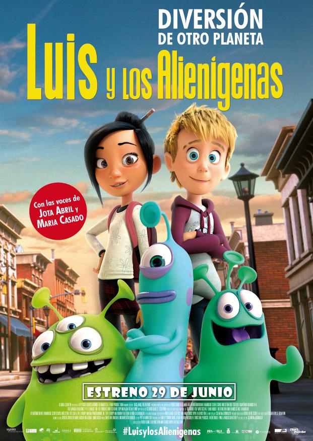 Cartel de Luis y los alienígenas