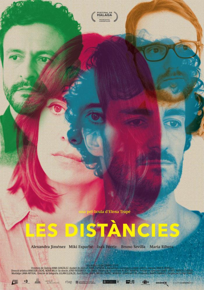 Cartel de Las distancias