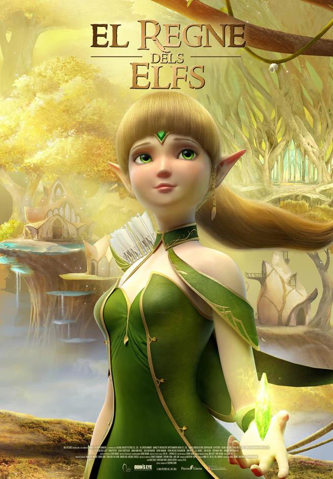 Cartel de El reino de los elfos