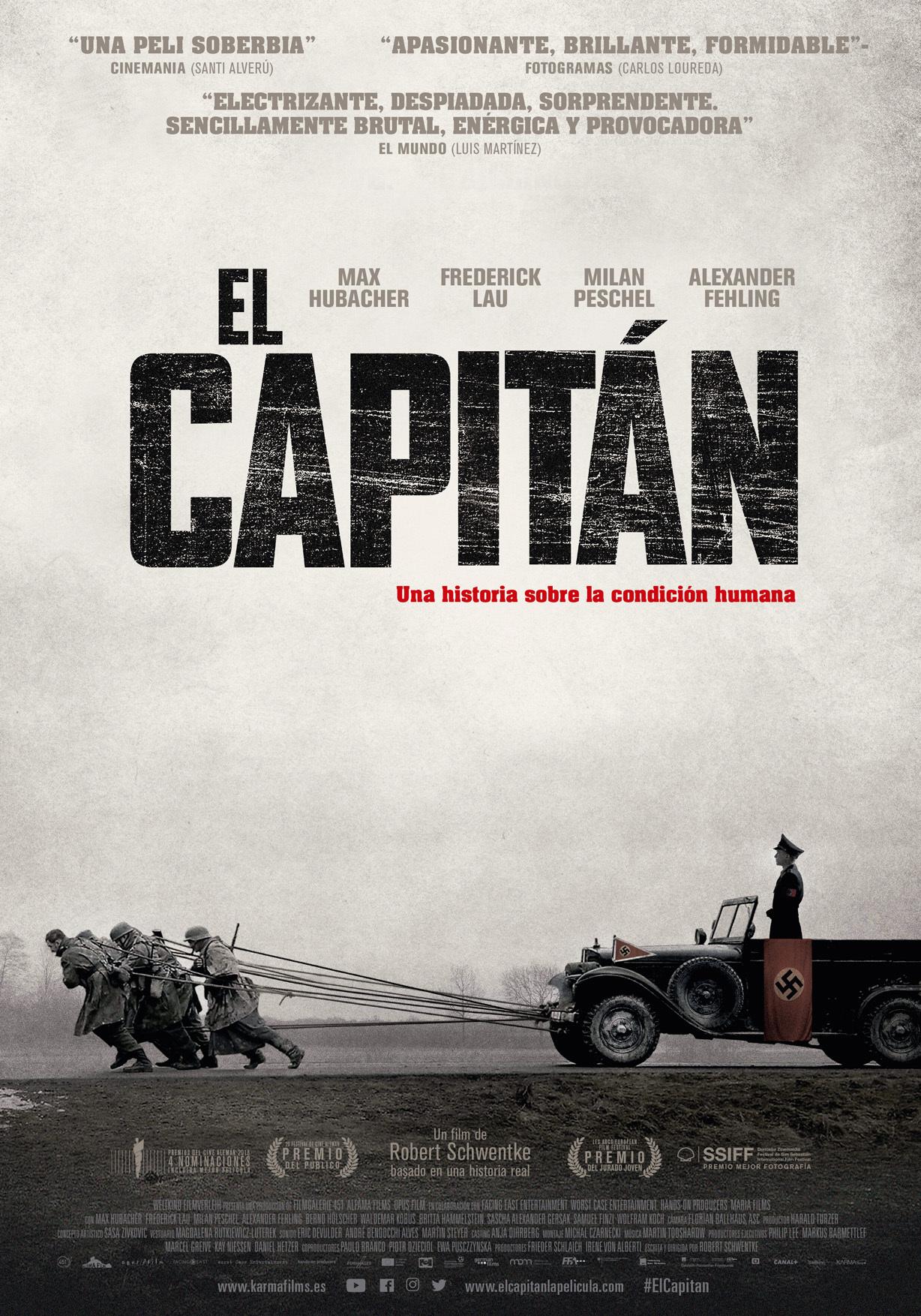 Cartel de El capitán