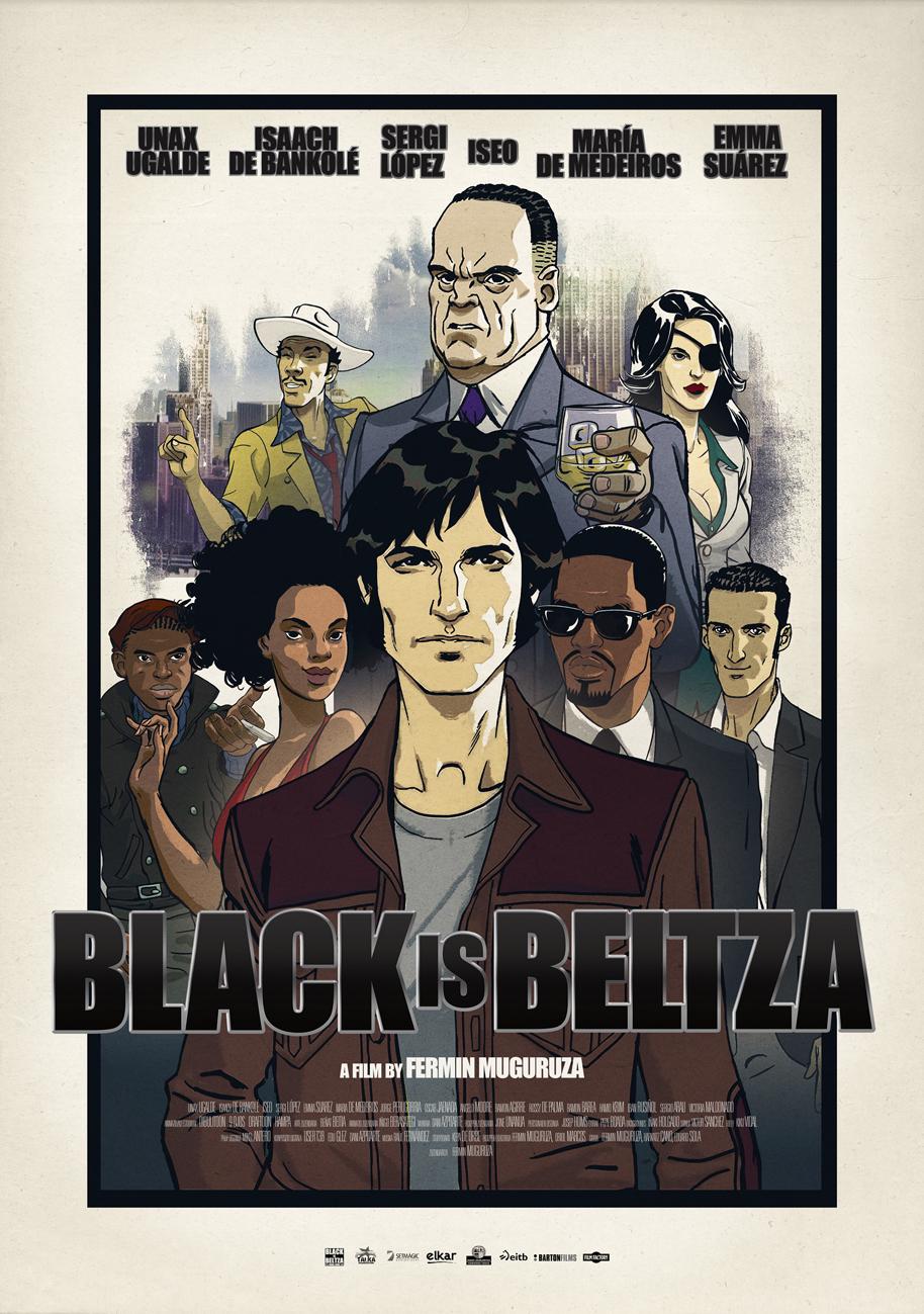 Cartel de Black is Beltza