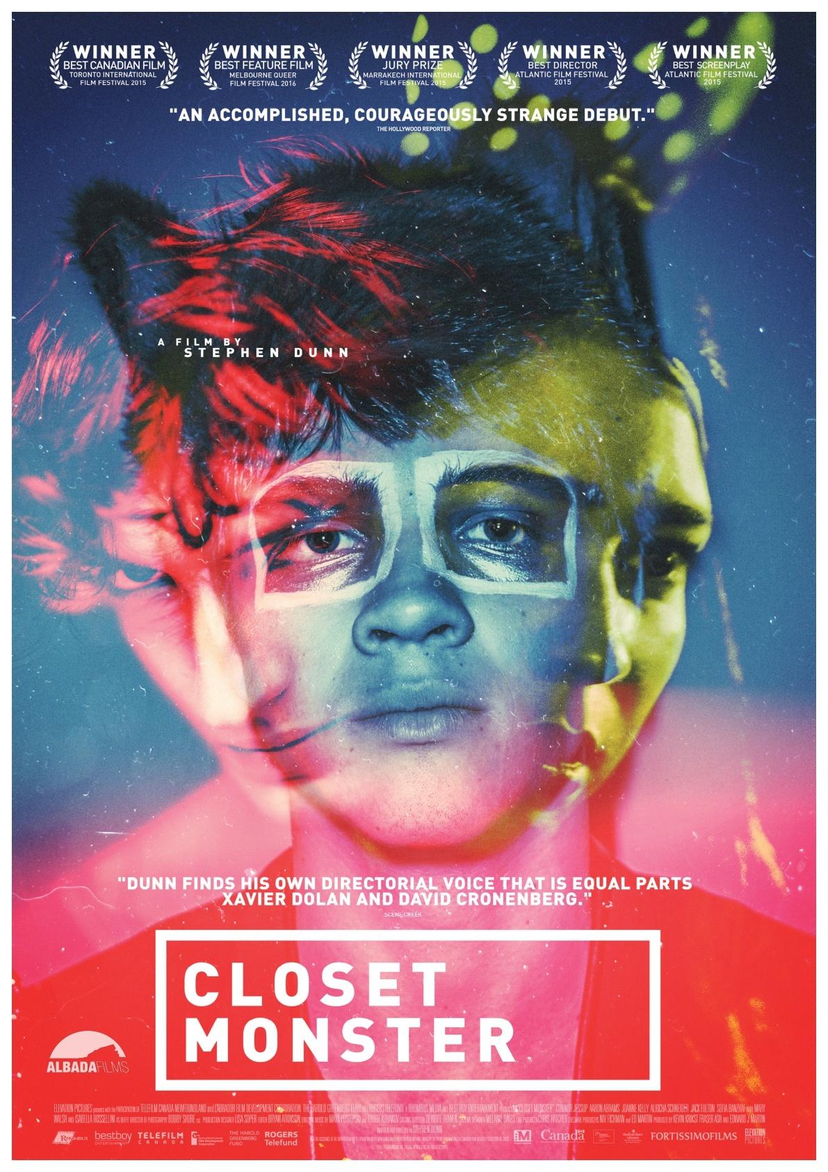 Cartel de Closet Monster