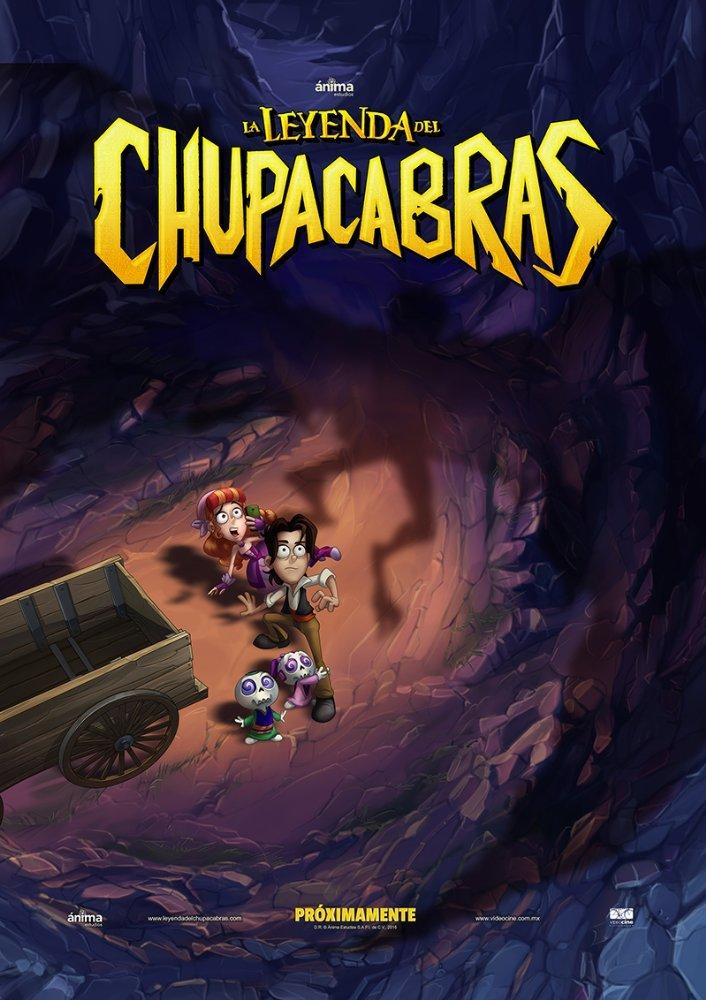 Cartel de La leyenda del Chupacabras