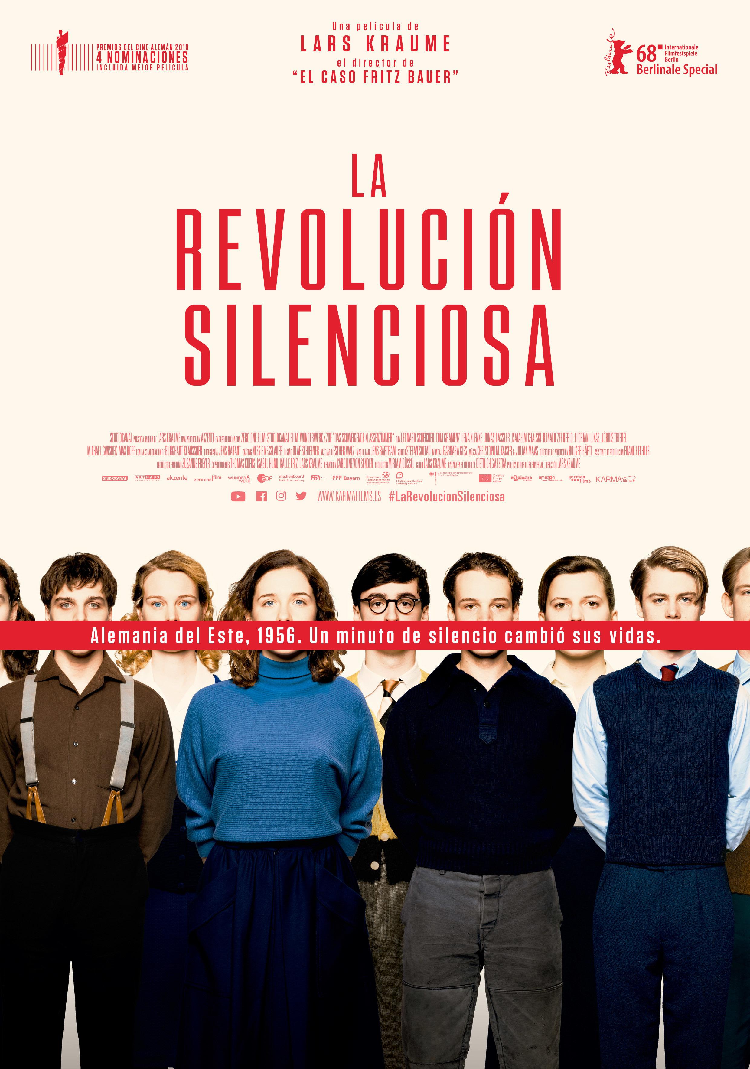 Cartel de La revolución silenciosa