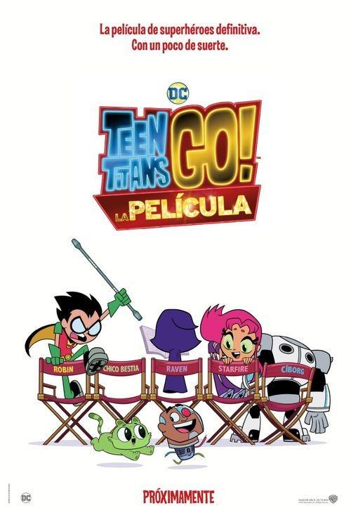 Cartel de Teen Titans Go! La película