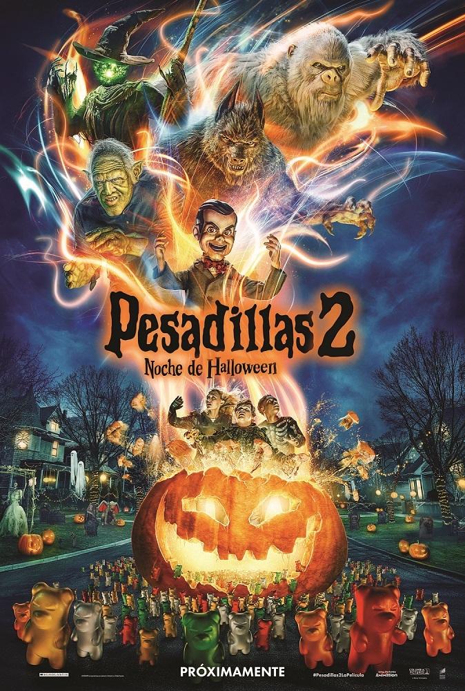 Cartel de Pesadillas 2: La noche de Halloween