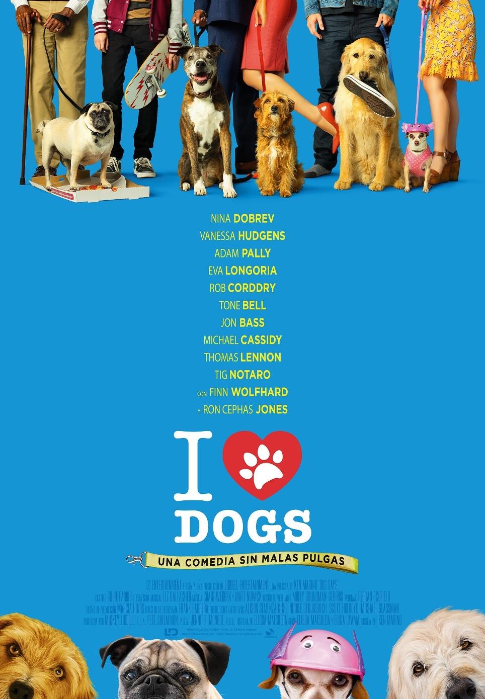 Cartel de I Love Dogs