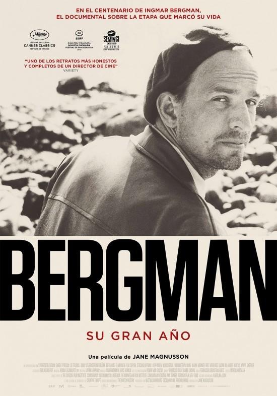 Cartel de Bergman, su gran año
