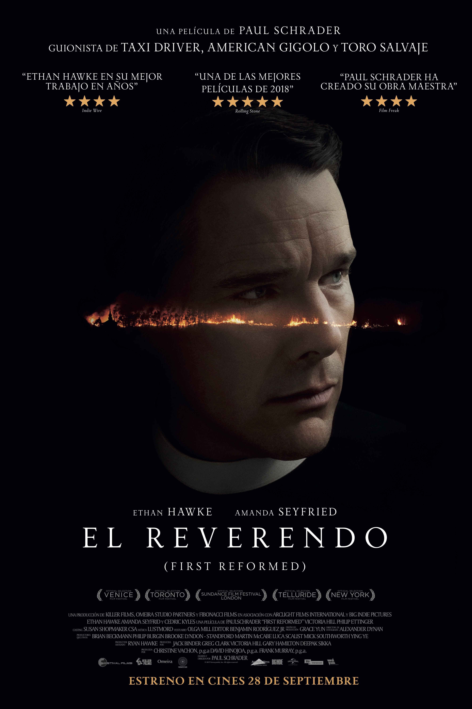 Cartel de El reverendo