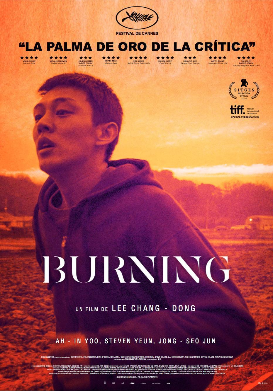 Cartel de Burning