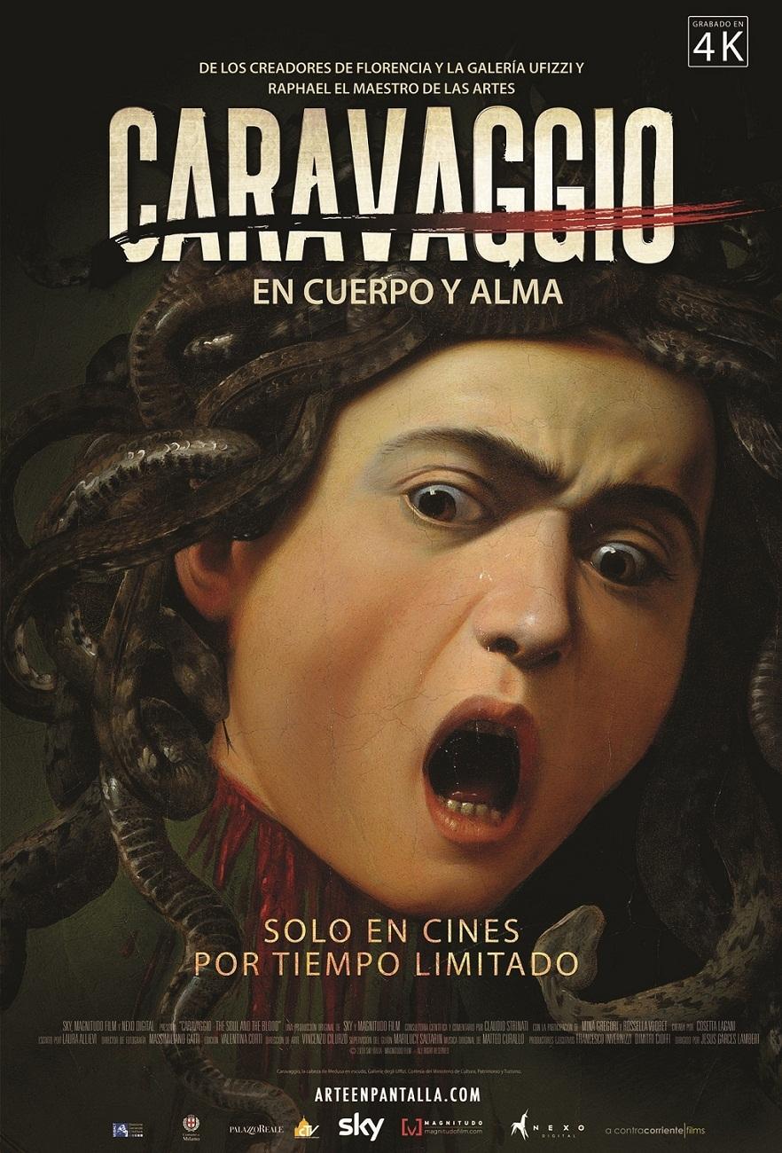 Cartel de Caravaggio, en cuerpo y alma