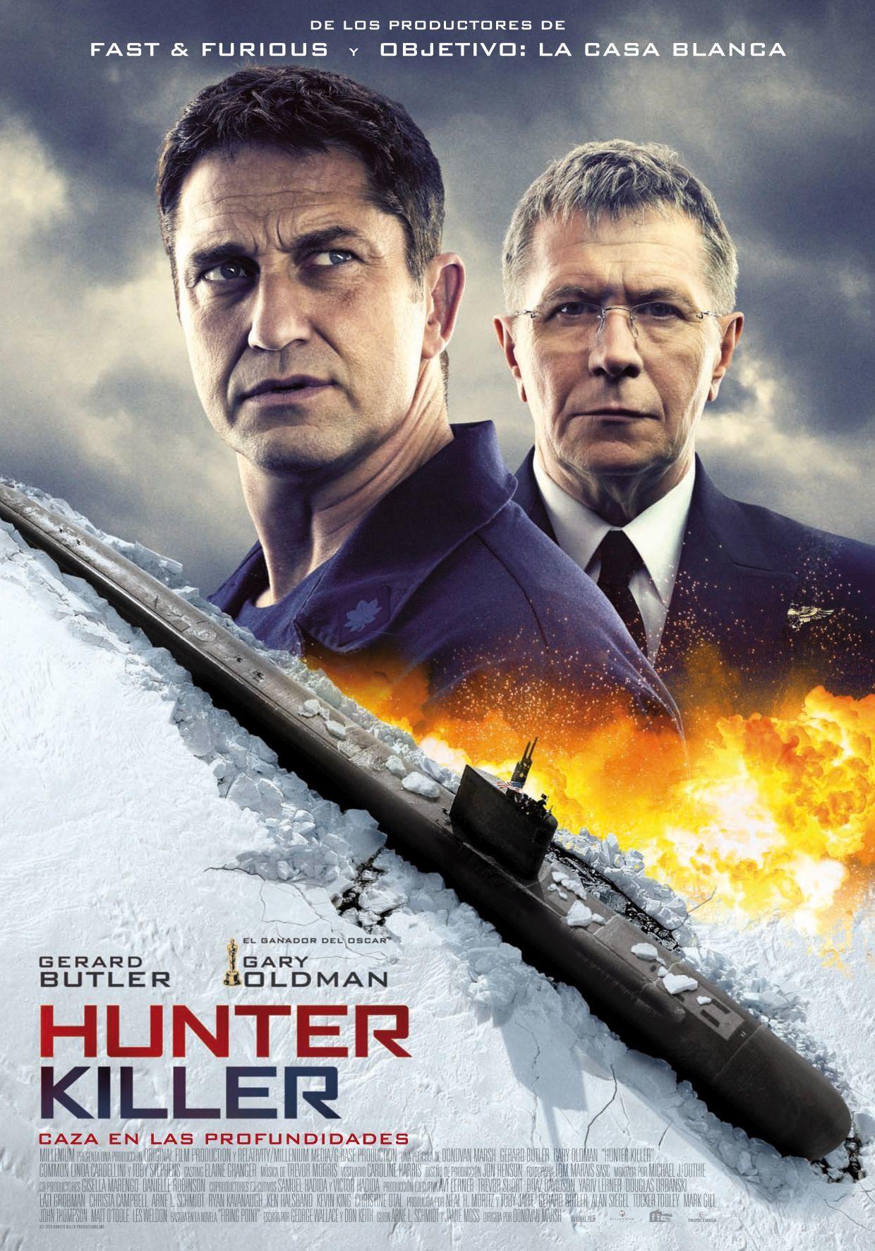 Cartel de Hunter Killer
