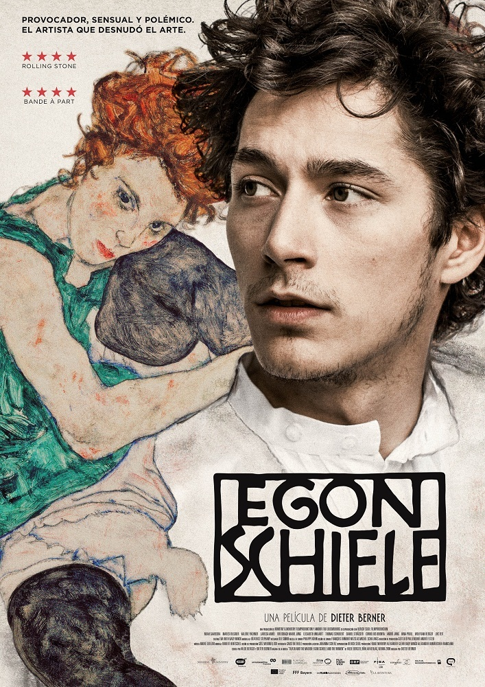 Cartel de Egon Schiele