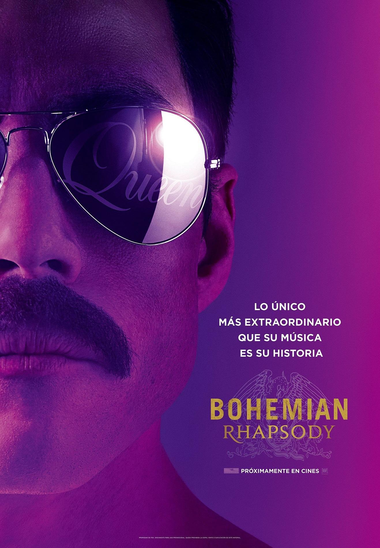 Cartel de Bohemian Rhapsody