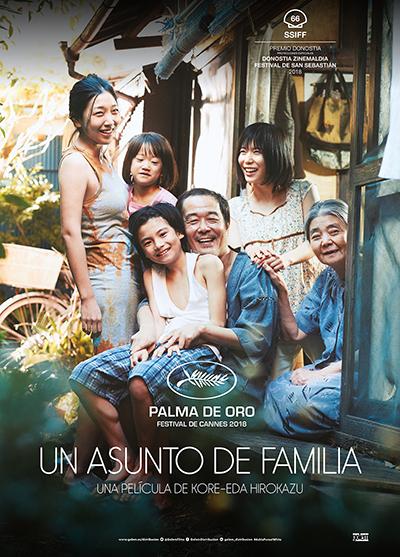 Cartel de Un asunto de familia