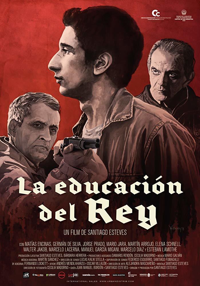 Cartel de La educación del Rey