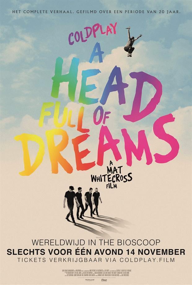 Cartel de Coldplay: A Head Full of Dreams