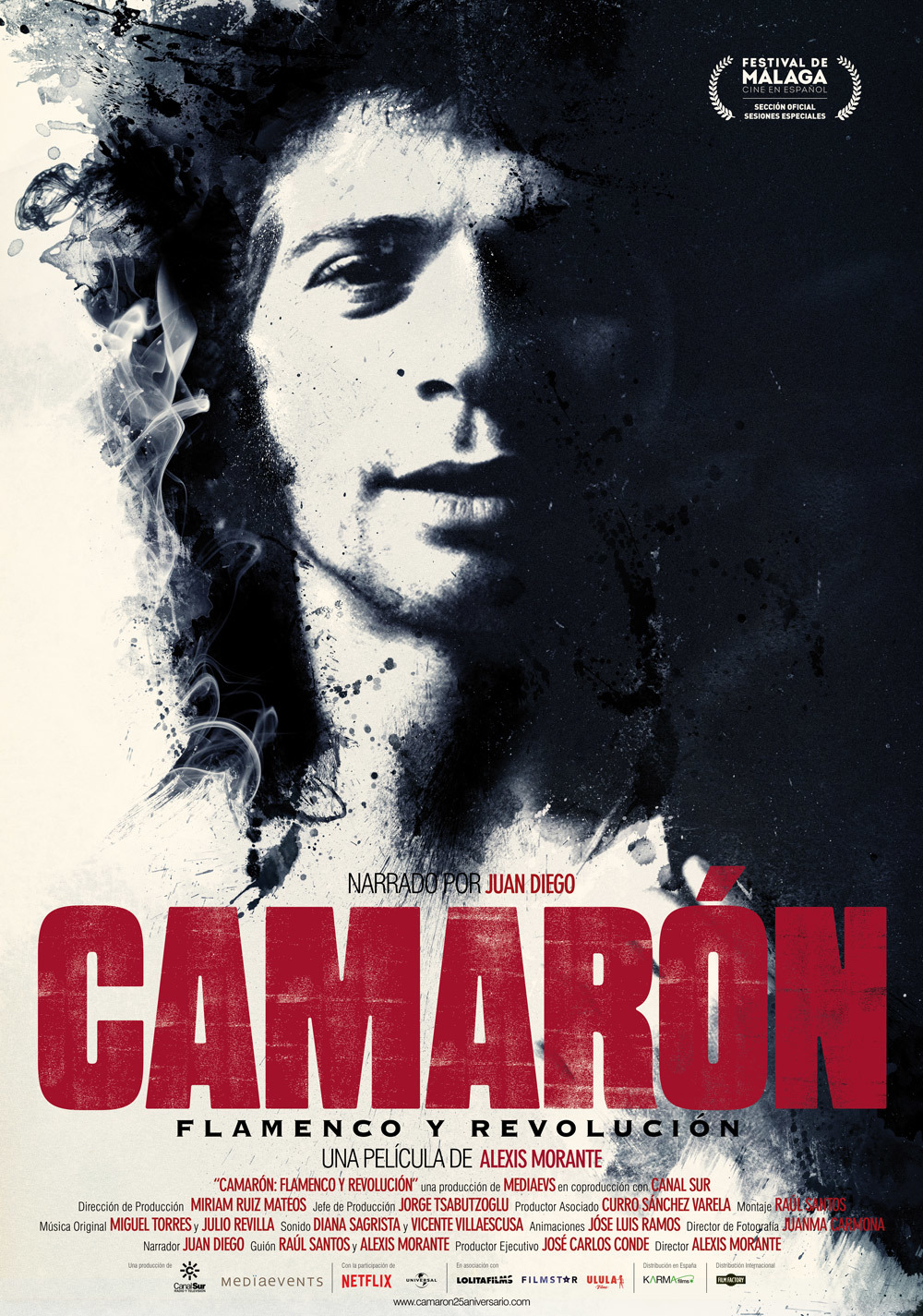 Cartel de Camarón: Flamenco y revolución