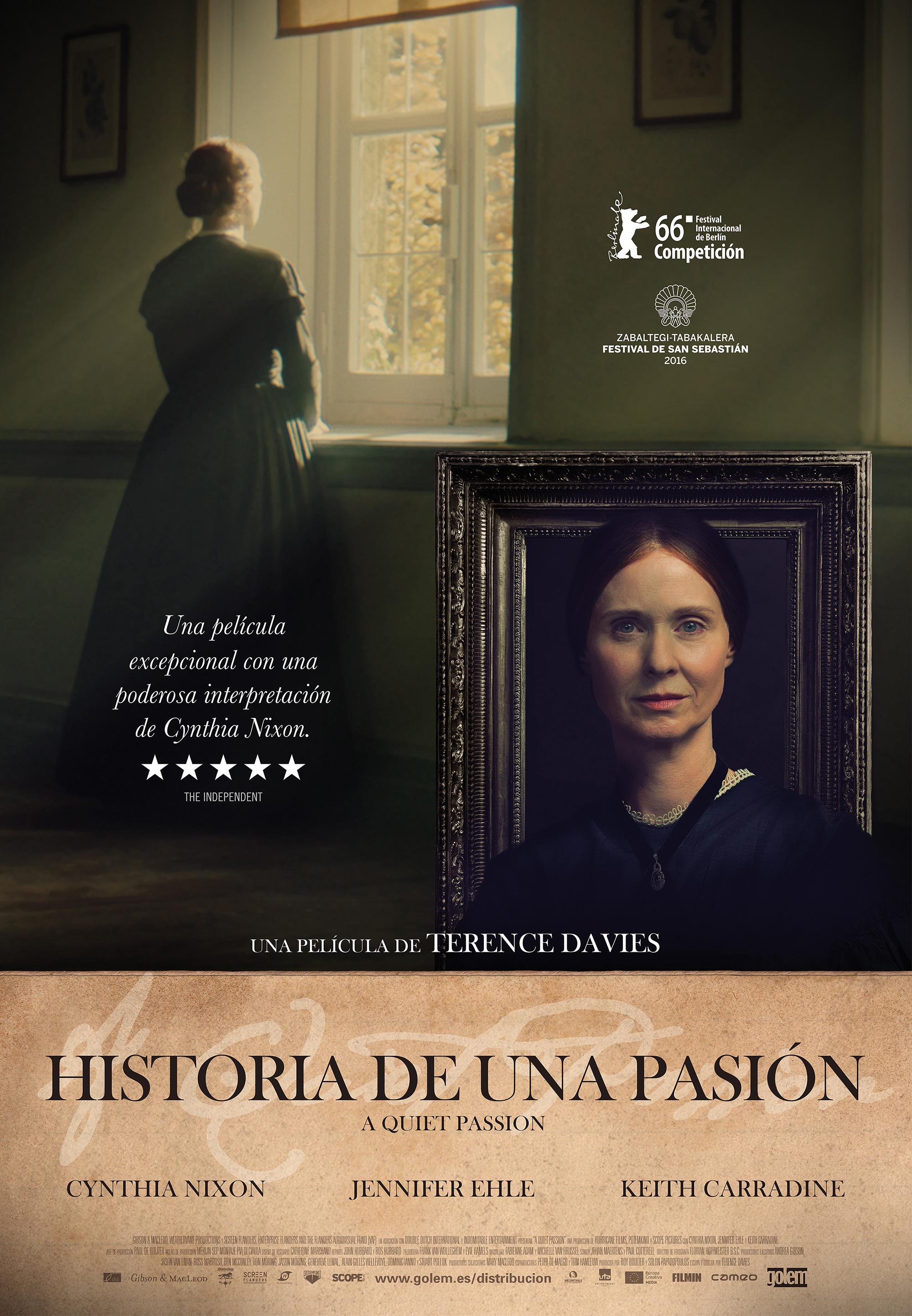 Cartel de Historia de una pasión