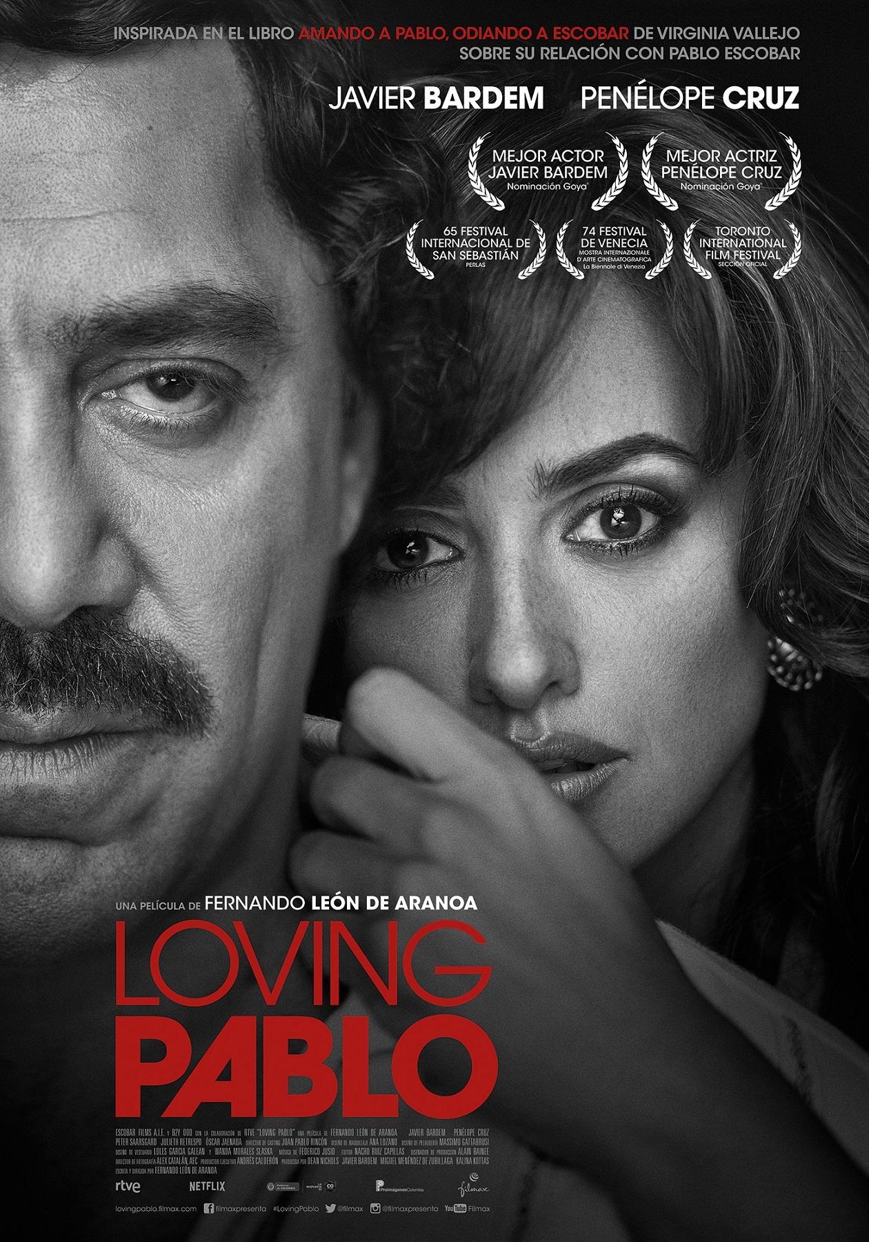 Cartel de Loving Pablo