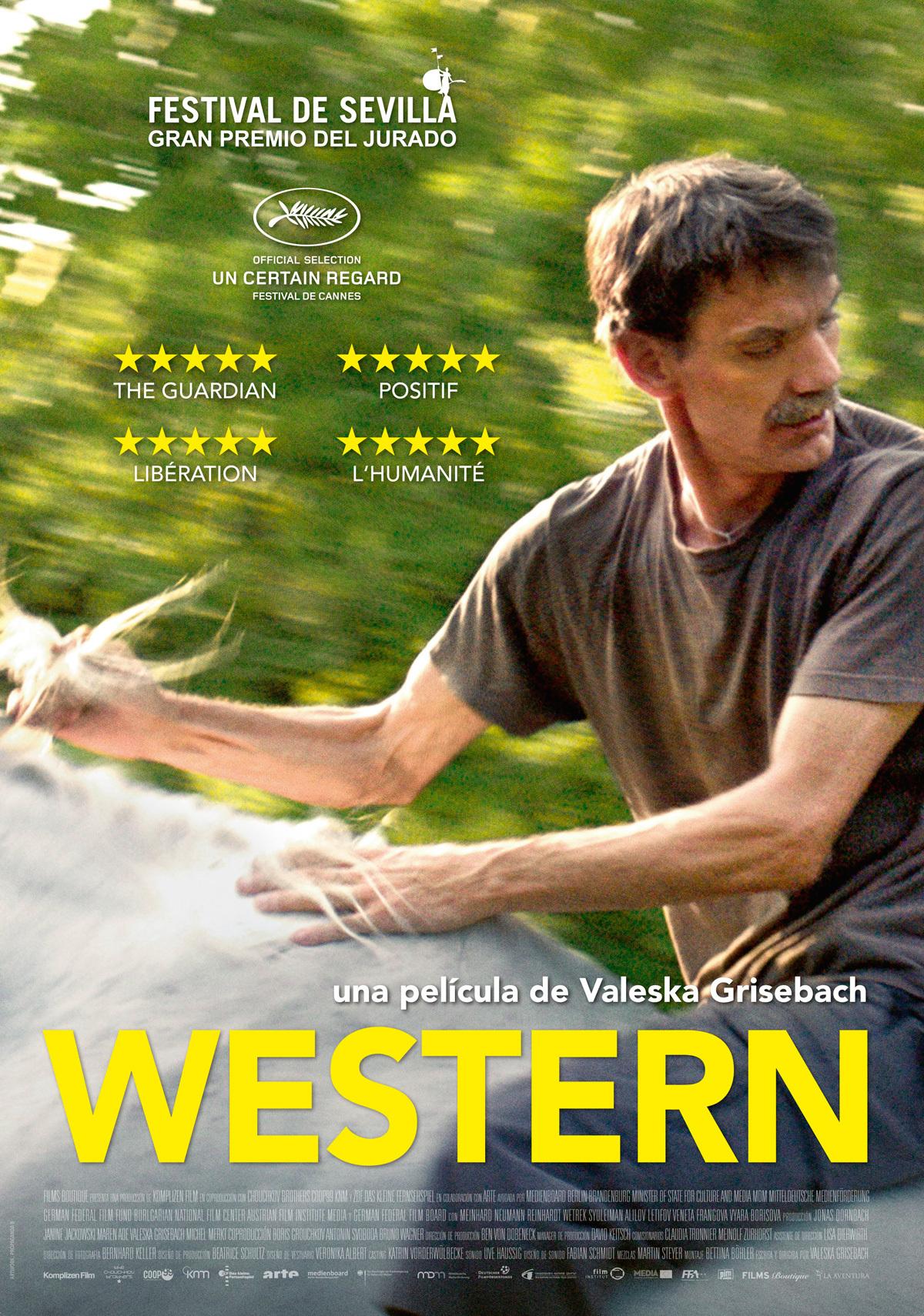 Cartel de Western