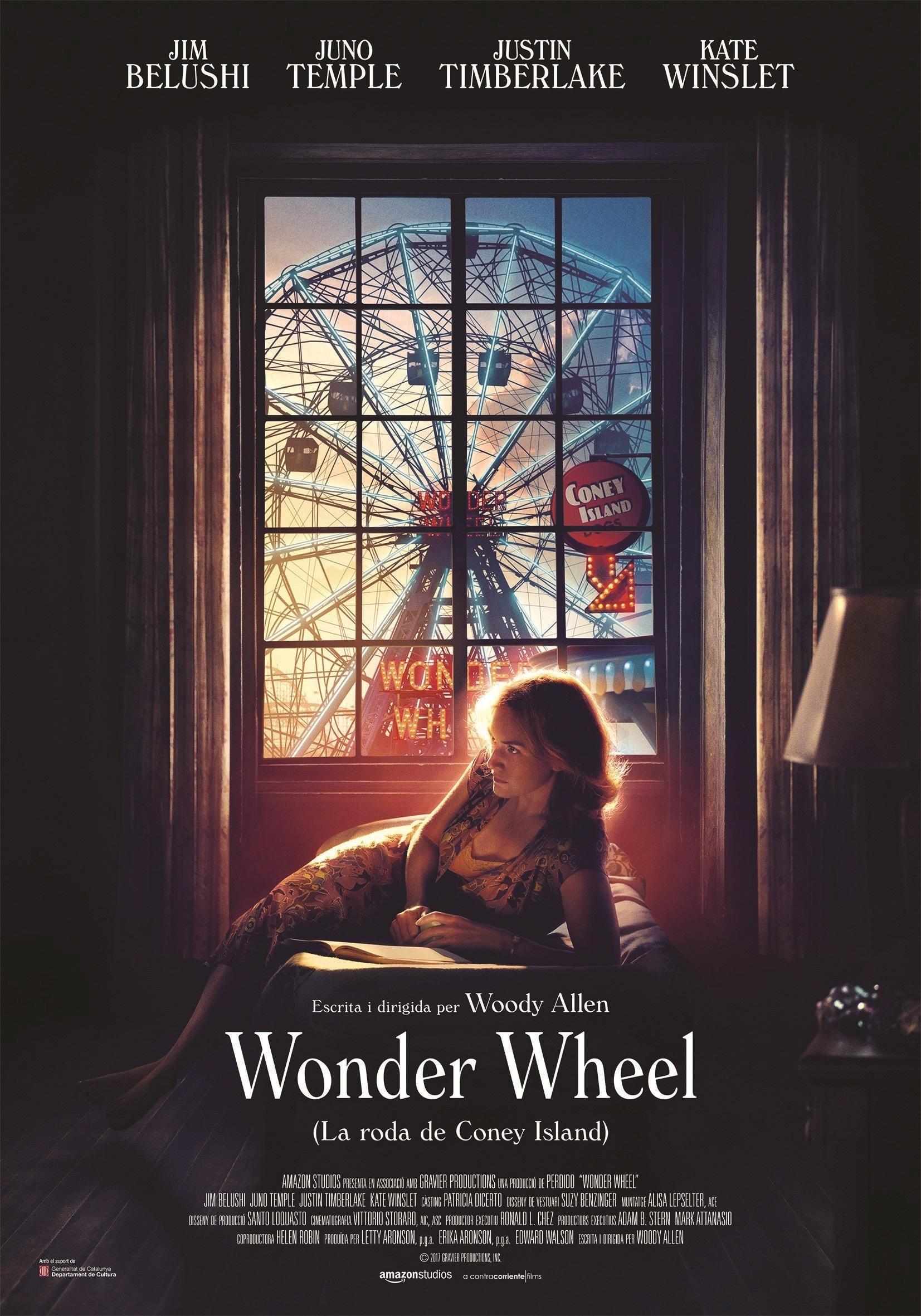 Cartel de Wonder Wheel (La noria de Coney Island)
