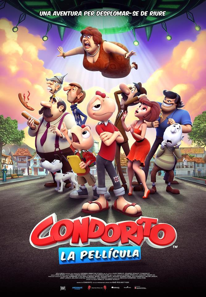 Cartel de Condorito. La película
