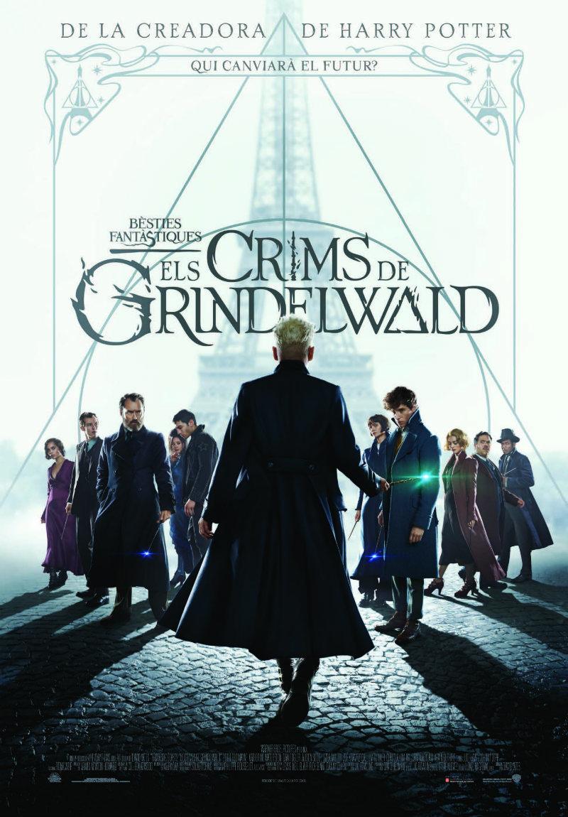 Cartel de Animales fantásticos: Los crímenes de Grindelwald
