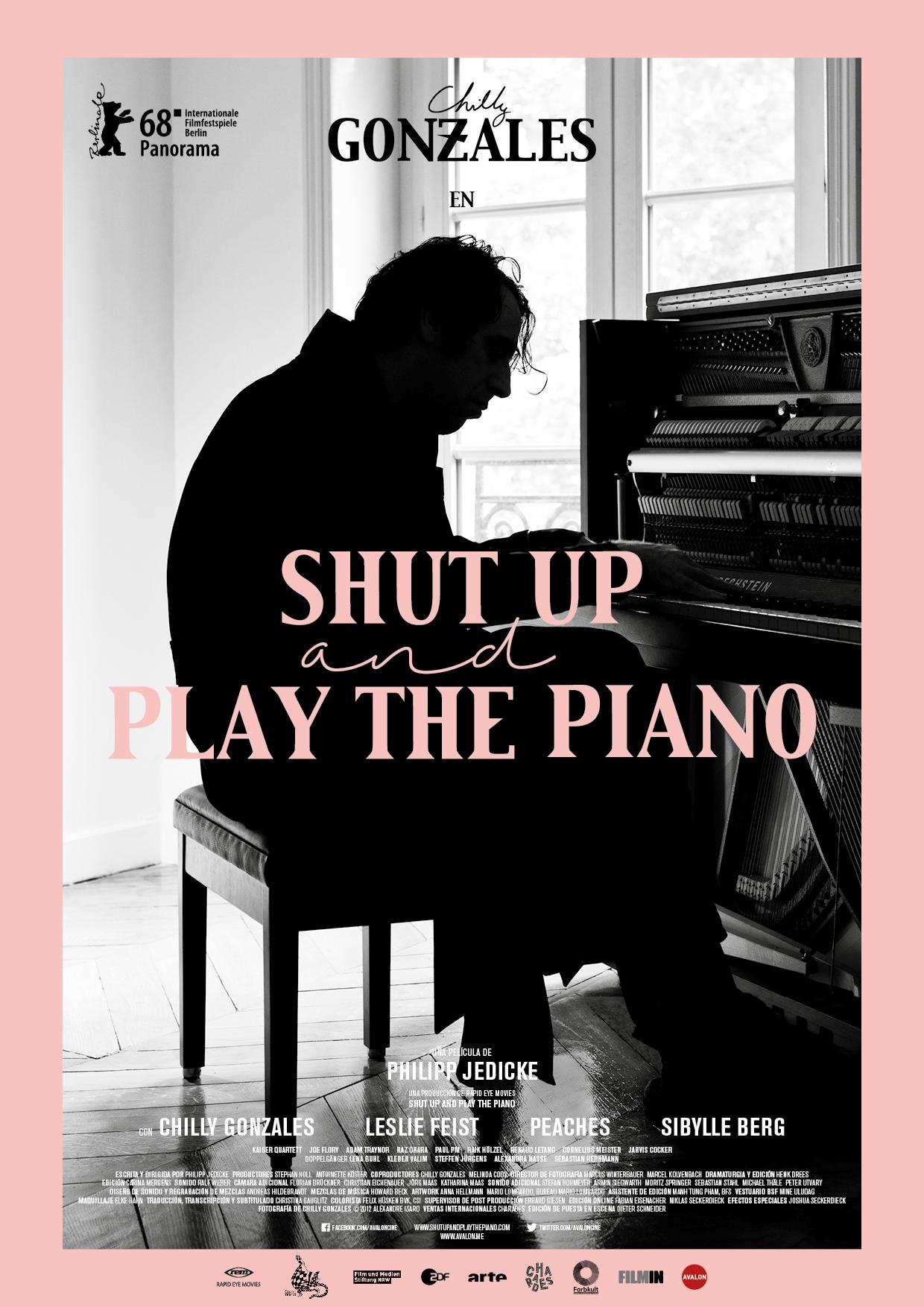 Cartel de Shut Up and Play the Piano