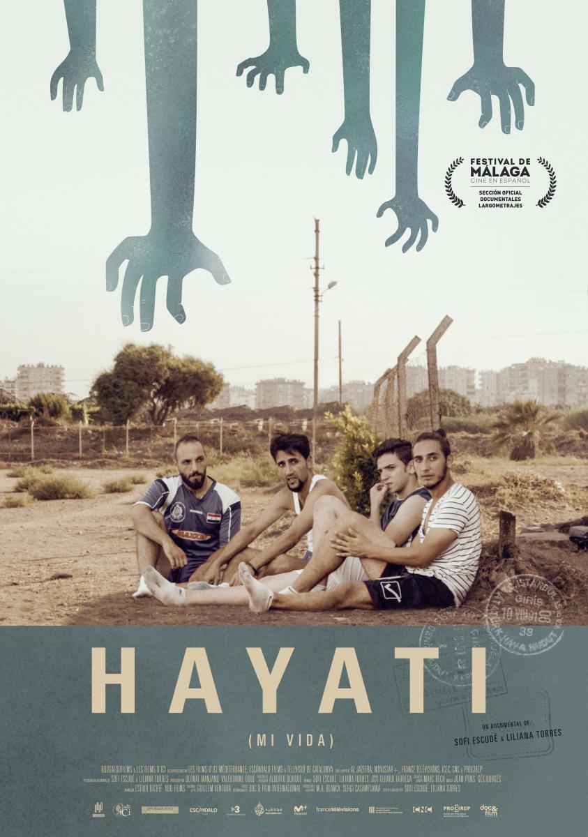 Cartel de Hayati (Mi vida)
