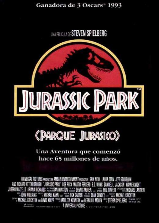 Cartel de Parque Jurásico