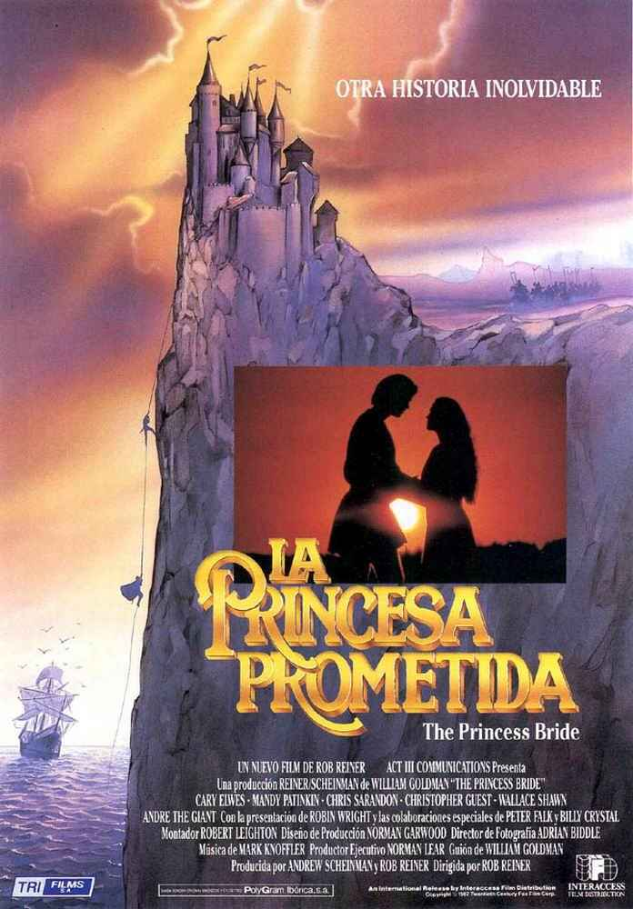 Cartel de La princesa prometida