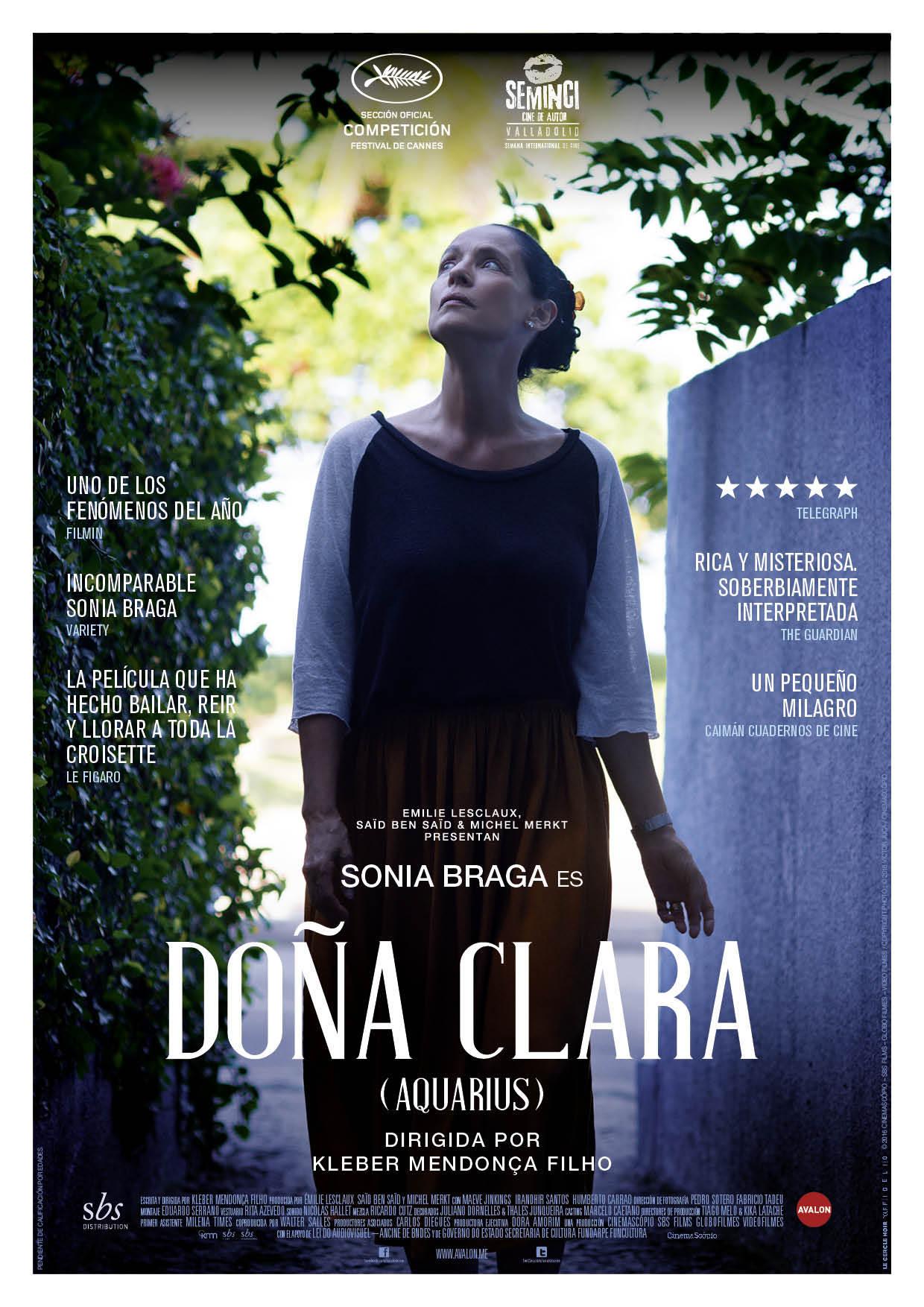 Cartel de Doña Clara (Aquarius)