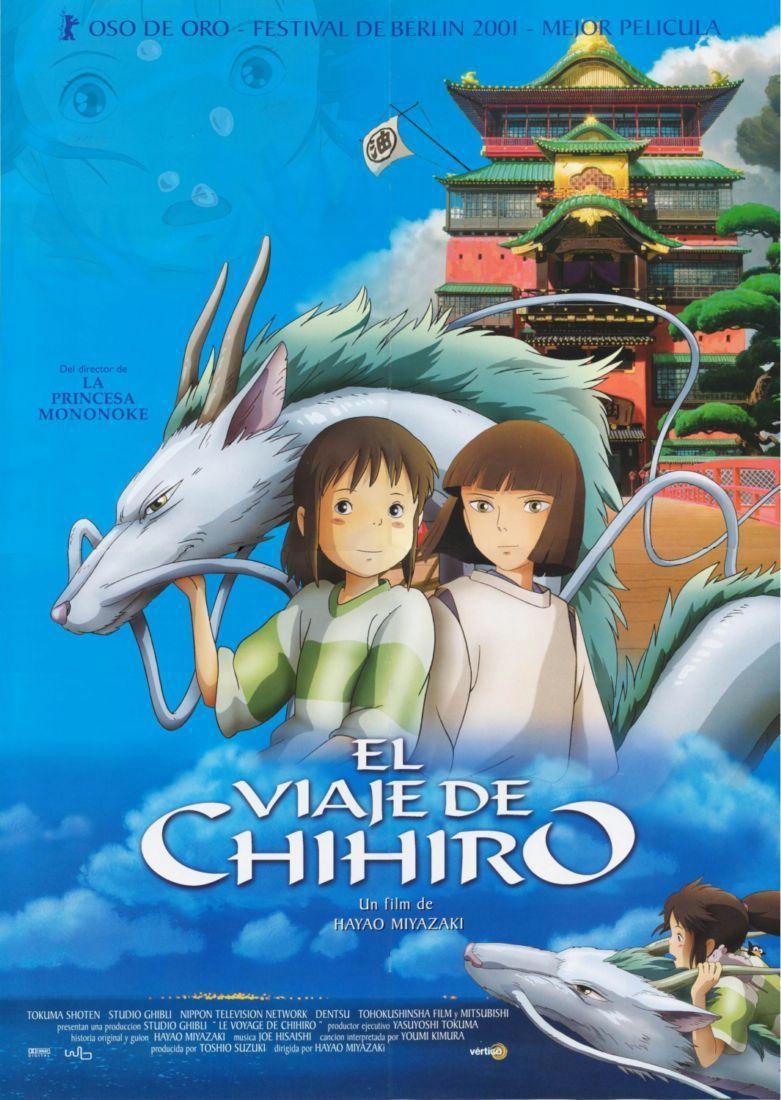 Cartel de El viaje de Chihiro
