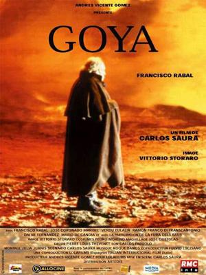Cartel de Goya en Burdeos