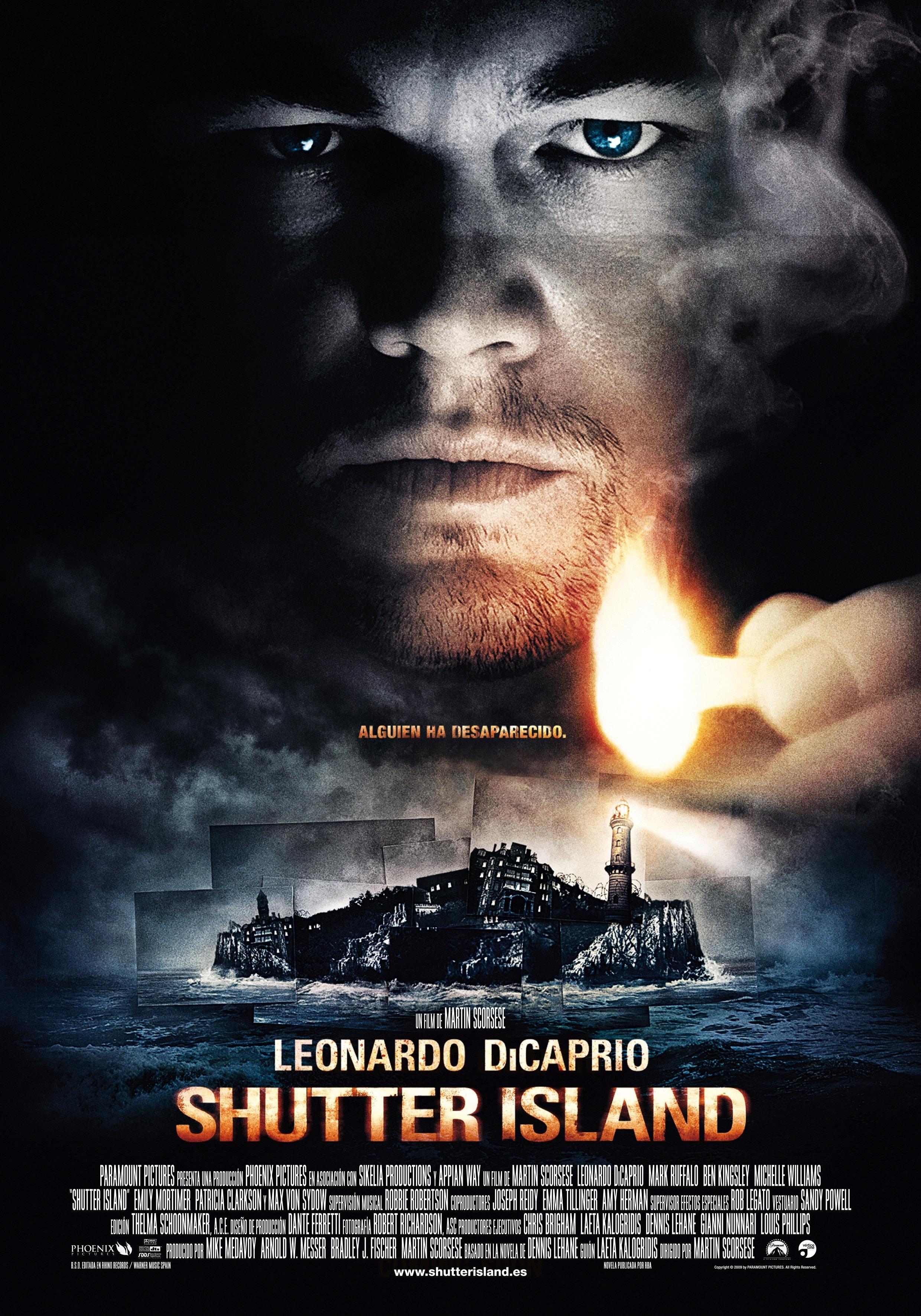 Cartel de Shutter island