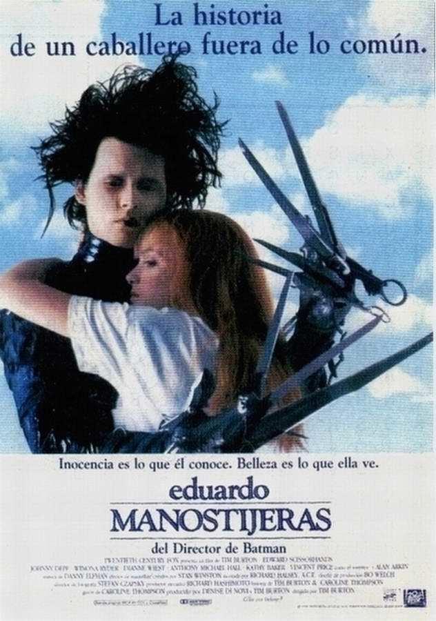 Cartel de Eduardo Manostijeras