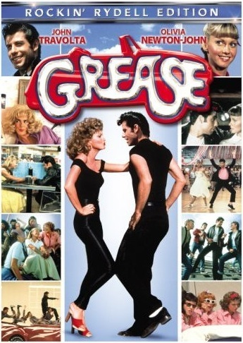 Cartel de Grease (Brillantina)